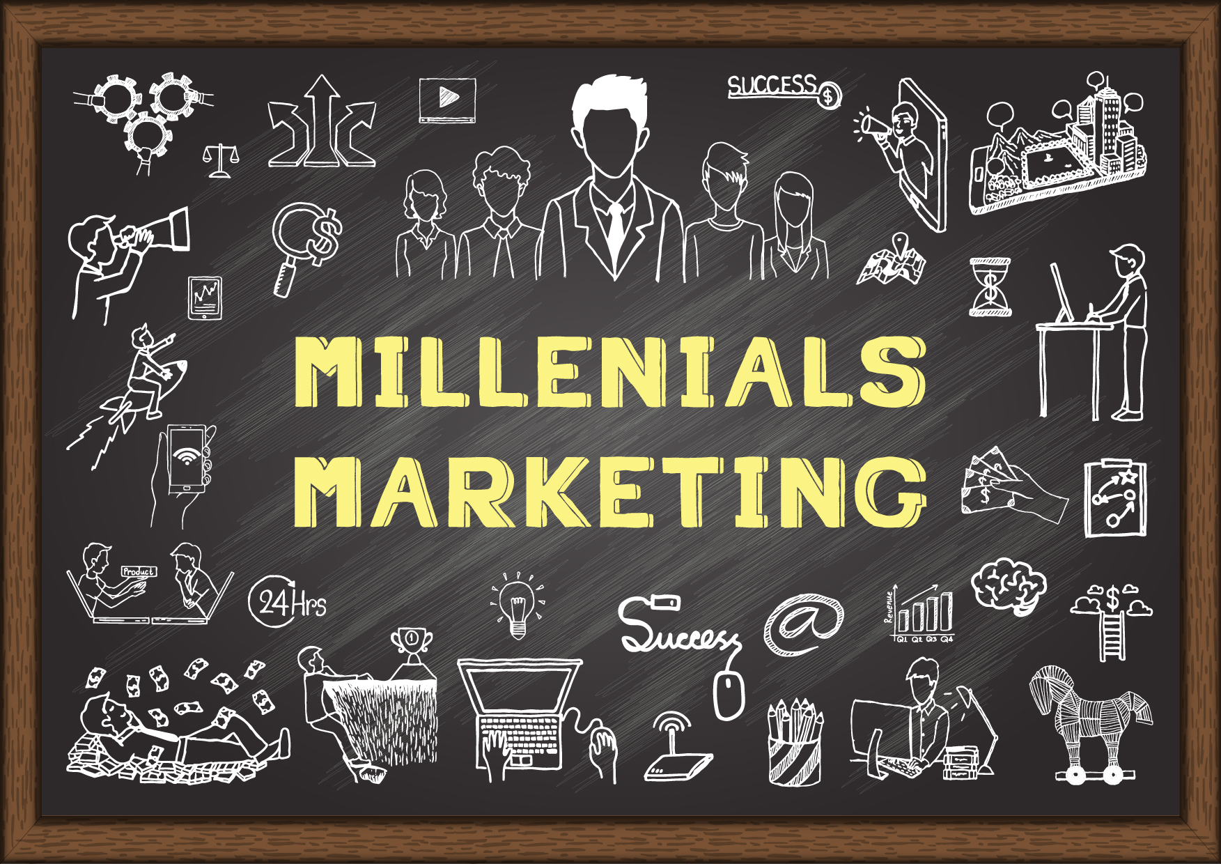 Image result for 5 Key Tactics For Marketing To Millennials